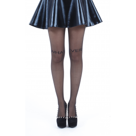 What Ever Sheer Tights (Black)