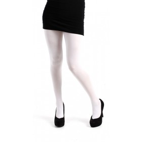 50 Denier Opaque Tights (White)