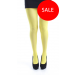 40 Denier Opaque No Elastane Tights Flo Yellow