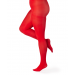 50 Denier Opaque Tights High Risk Red
