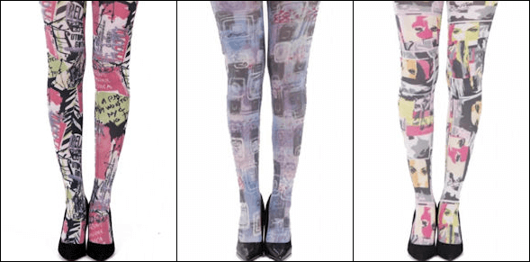 Graphic Art Tights