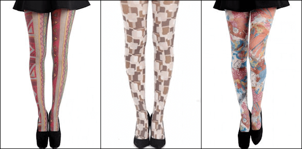 Other Printed Tights